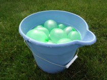 Over The Top Balloons Delivers Pre Filled Water Balloons To Your Party In Buckets