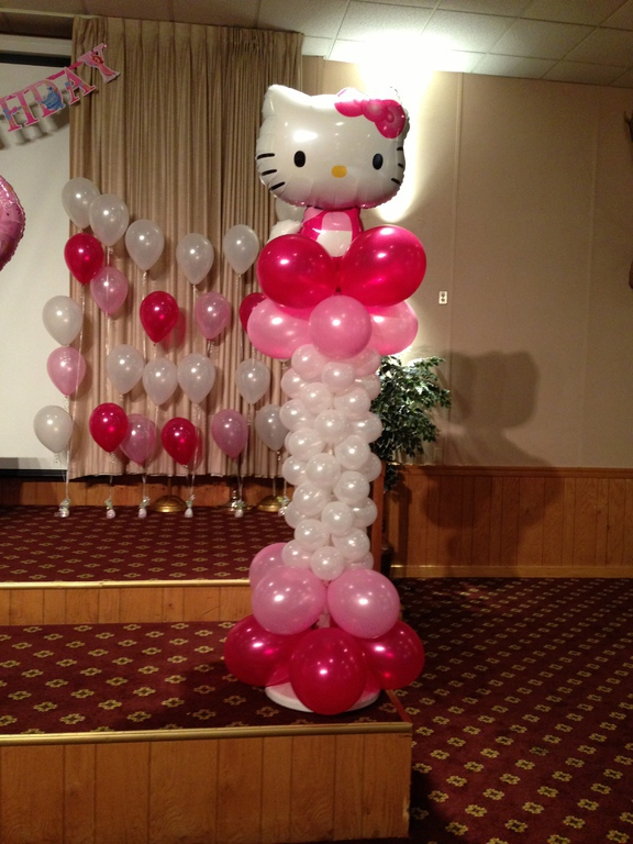 Balloon arrangements arches decorations mechanicsburg for Balloon decoration birthday party chennai