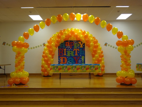 Arch Balloons Provided By Over The Top Balloons