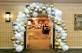 Wedding Balloon Centerpieces